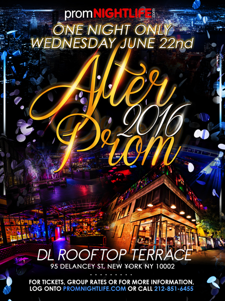 DL Rooftop Terrace After Prom
